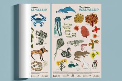 Place Names Walyalup Language Poster
