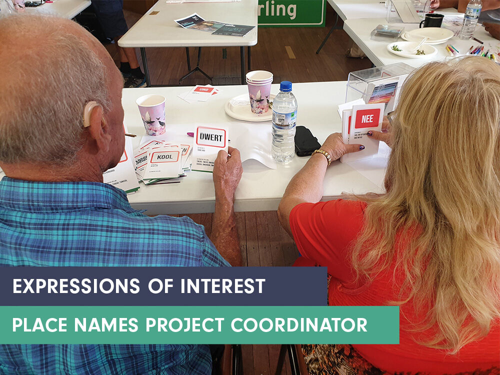 Place Names Project Coordinator